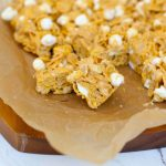 Chewy Peanut Butter Cereal Bars