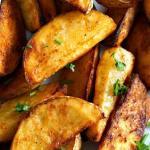 Oven Baked Spicy Potato Wedges
