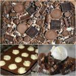 Chocolate Explosion Earthquake Cake