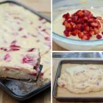Strawberry Cheesecake Cookie Bars