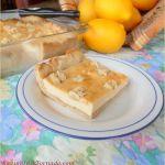 Rustic Lemon Cheesecake Bars
