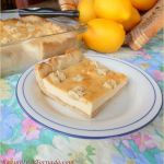 Rustic Lemon Cheesecake Bars