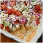 Easy 7 Layer Greek Tzatziki Dip