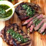 Perfectly Grilled Rib-Eye Steaks