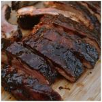 Balsamic Vinegar Barbecue Pork Ribs