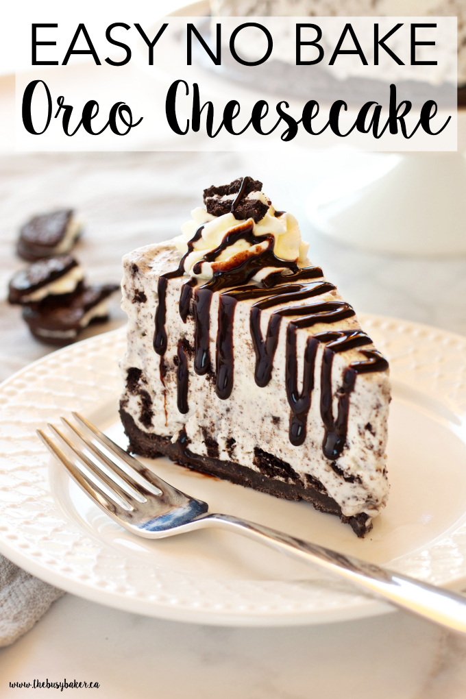 Easy no bake oreo cheesecake marias mixing bowl this easy no bake oreo cheesecake recipe is smooth and creamy its the perfect cheesecake recipe and its so easy to make with only a few ingredients forumfinder Choice Image
