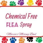 Chemical Free Flea Spray
