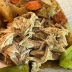 Slow Cooker Mississippi Chicken with Carrots and Potatoes
