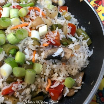 Easy Sauteed Vegetables with Rice