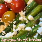 Asparagus with Feta and Tomatoes