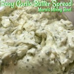 Easy Garlic Butter Spread