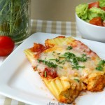 Easy Three Cheese Manicotti