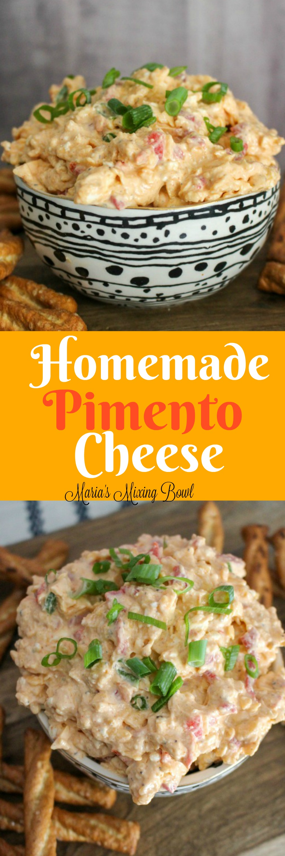 Homemade Pimento Cheese Recipe - A true Southern delicacy! I wasn't really sure about this cheese spread at first. Let me tell you...this stuff is addictive.