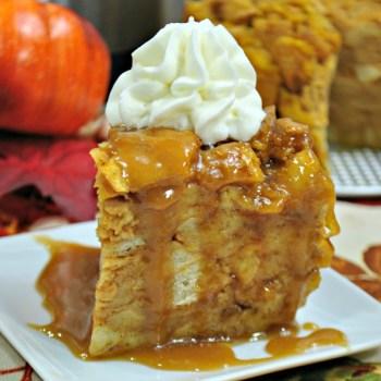 Pumpkin Bread Pudding – Instant Pot
