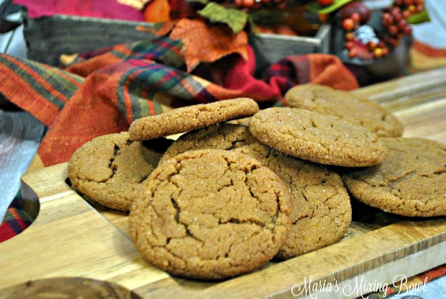 Cookies Pumpkin and gingersnap