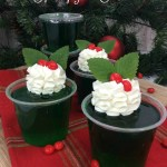 Holiday Jello Shots