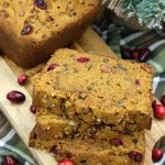 Cranberry Pecan Pumpkin Bread