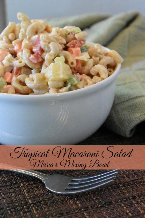 Tropical Macaroni Salad