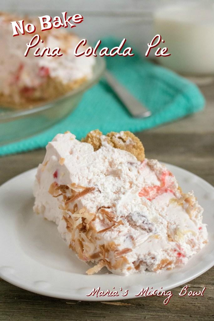 No -Bake Colada Pie