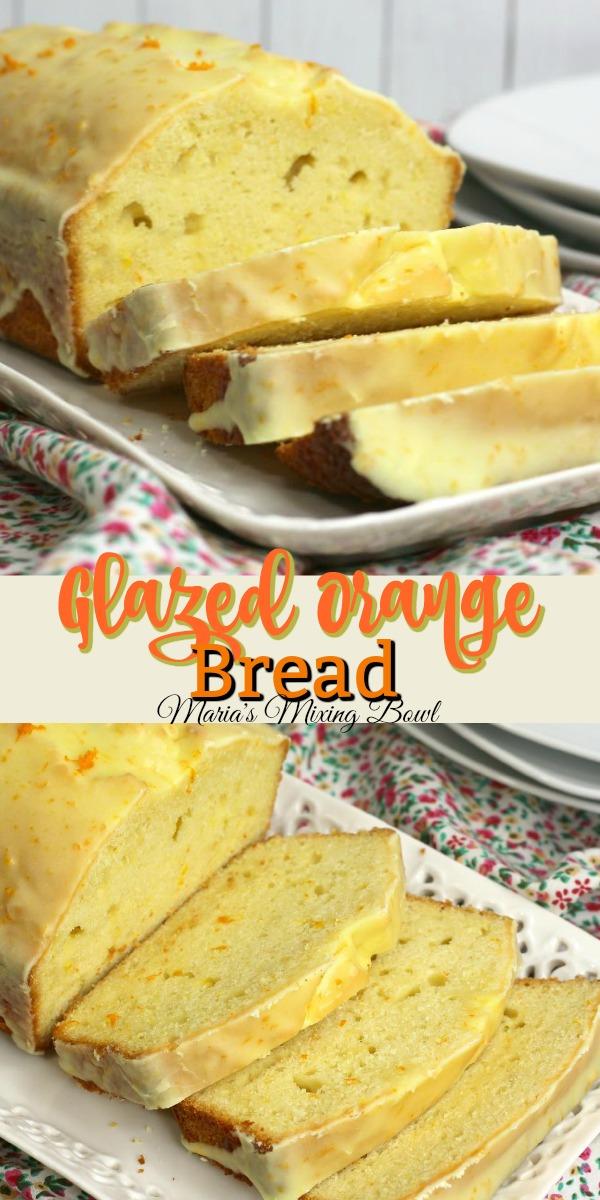 Glazed Orange Bread