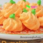 Pumpkin Meringues