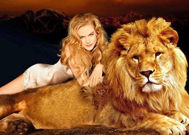 la bella y el león