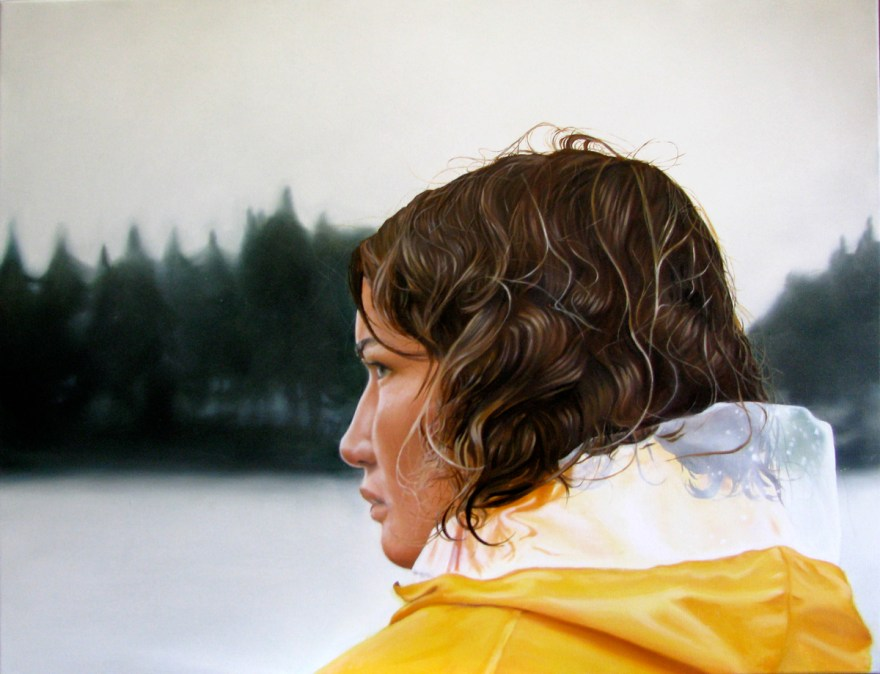 Sweden, 2010, 45 x 65 cm, oil on canvas