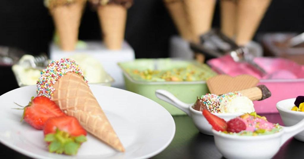 Curso gelados italianos