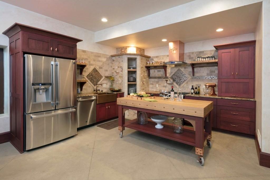 organização da cozinha