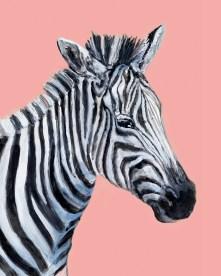 Zebra - Gouache and Digital