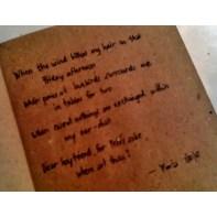 A random poem I wrote while having breakfast at McDonalds