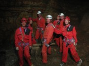 Cave climbing with more Dutchies