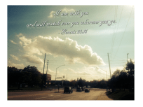 I am with you - Genesis 28