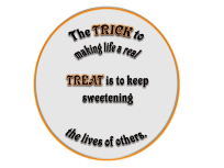 The Trick to Making Life a Real Treat