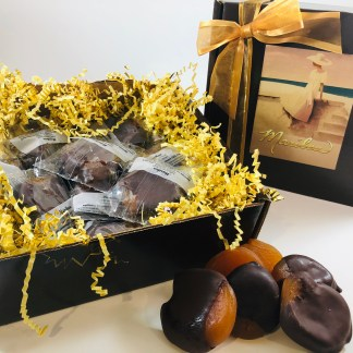 The Down Under Chocolate Dipped Apricots
