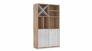 Шкаф для детских вещей комбинированный