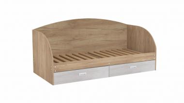 Кровать с ящиками 800