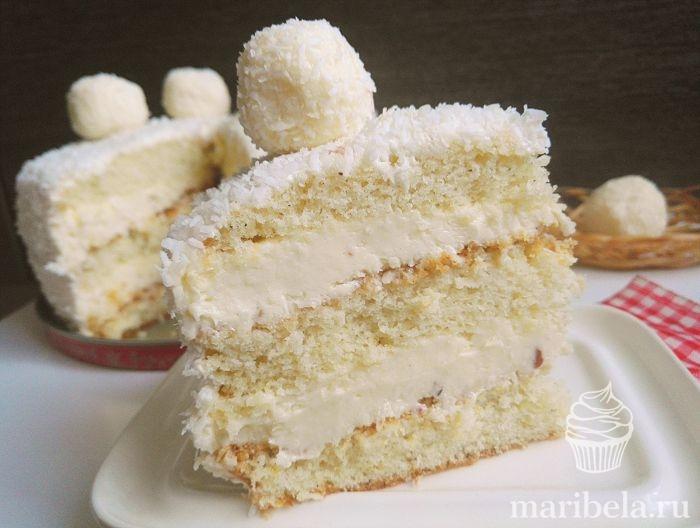 raffaello tårta recept