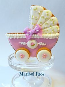 Carrito Galleta Decorada Maribel Rios