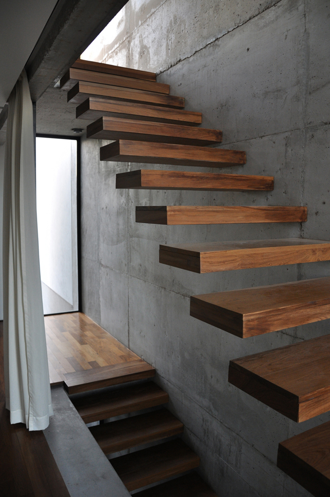 Design Is In The Details 10 Cantilevered Stair Designs Studio MM Architect