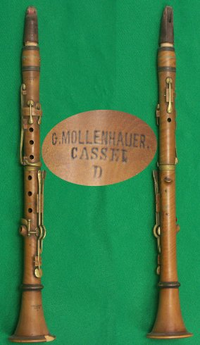 Mollenhauer-Clarinet (late 19th century)