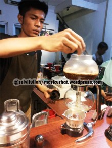 manual brewing : syphon