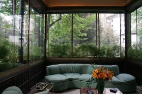 Das Gartenzimmer in der Villa Necchi
