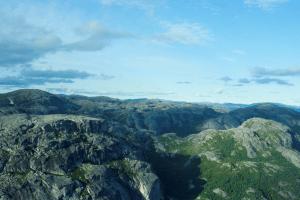 Montagne vertes