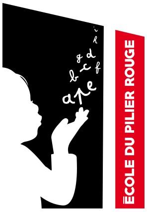 logo-ecole-pilier-rouge-enfant-sur-fond-noir-texte-sur-fond-rouge-01