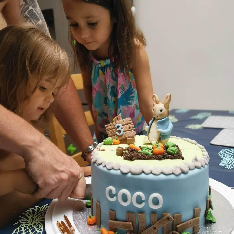 Coco Chocolate Vegan Birthday Cake Marie Makes