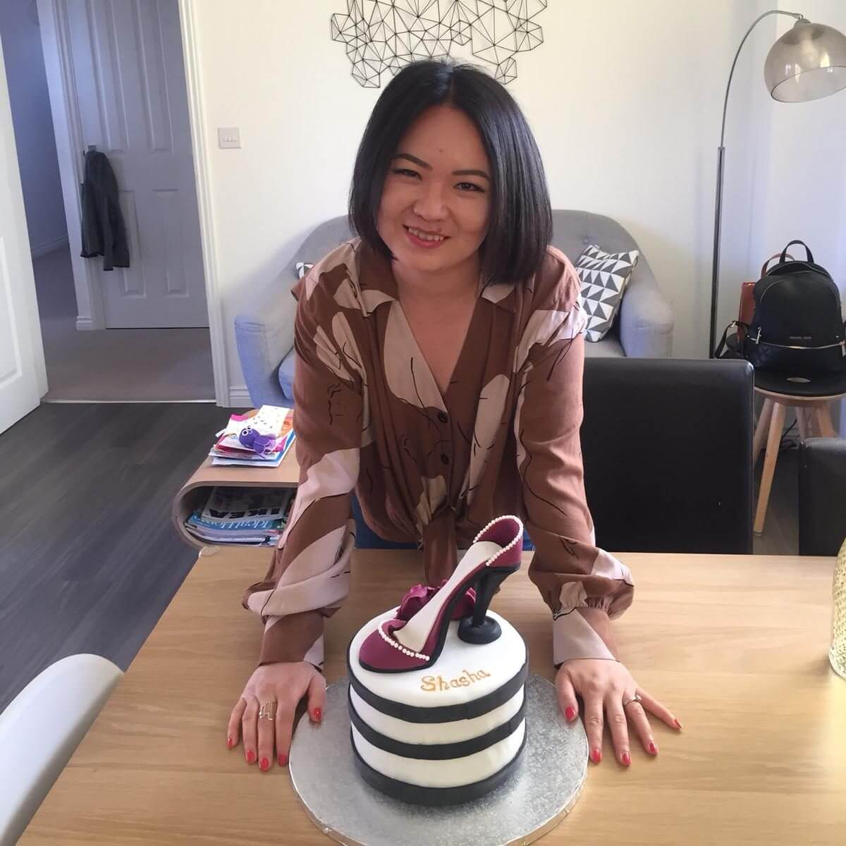 Shoe Cake review