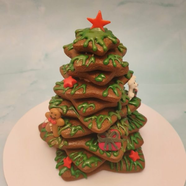 Christmas cookie tree centrepiece dessert