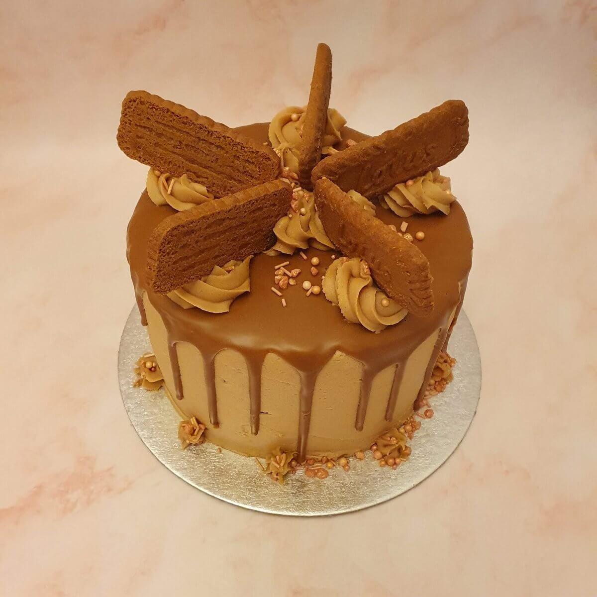 Biscoff Birthday Cake Delivered Milton Keynes