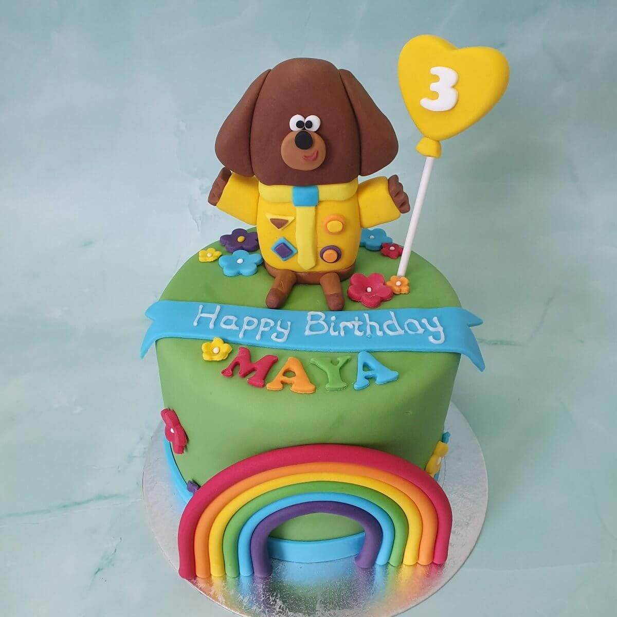 Hey Duggee Children's Birthday Cake Maker Delivered Milton Keynes